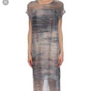 Raquel allegra silk dress